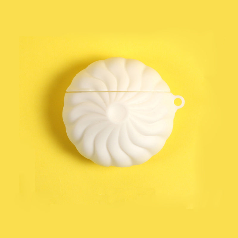 Small Steamed Bun Chinese Food Shaped Airpods Case -  - TomorrowSummer