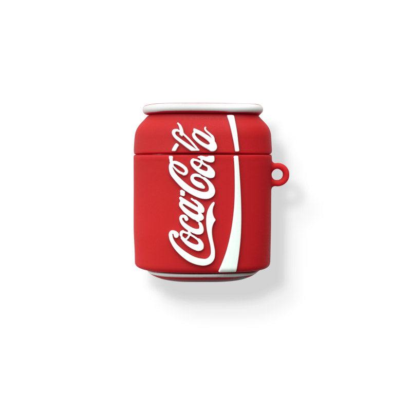 Cola Bottle Shaped Airpods Case - Food Airpods Cases - TomorrowSummer