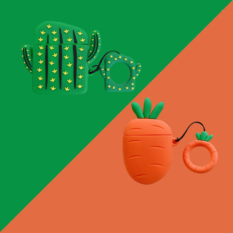 Radish & Cactus Airpods Case -  - TomorrowSummer