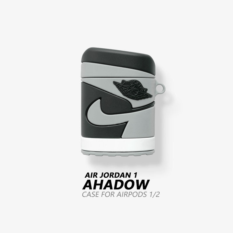 AJ 1 'Banned'  'Shadow' Shaped Airpods Case
