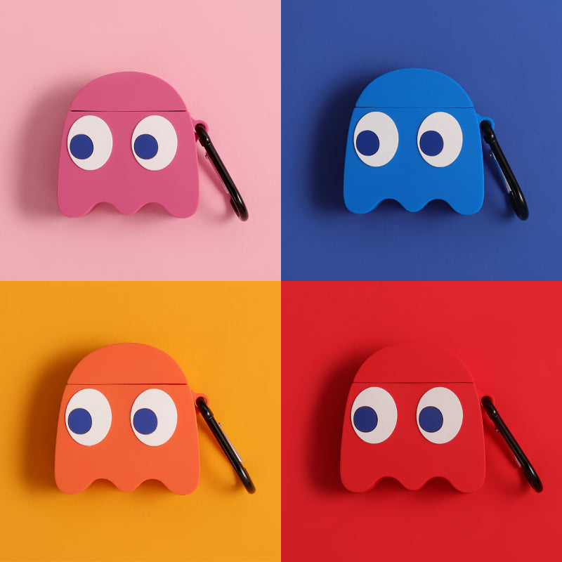 Pac-man Shaped Airpods Case - Popular Airpods Cases - TomorrowSummer