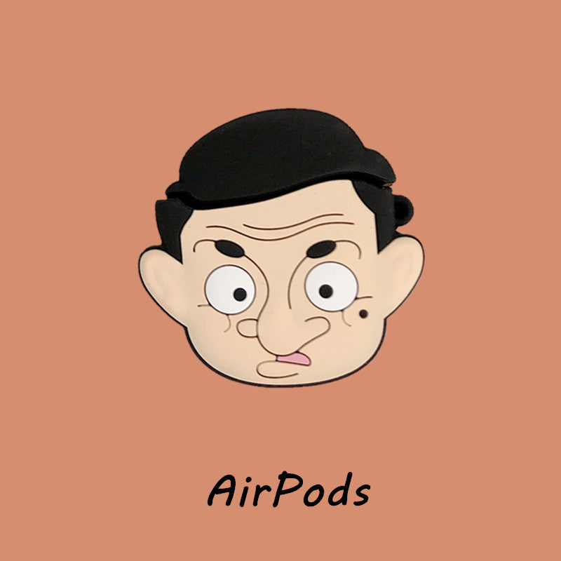 Mr. Bean Airpods Case - Movie Airpods Cases - TomorrowSummer