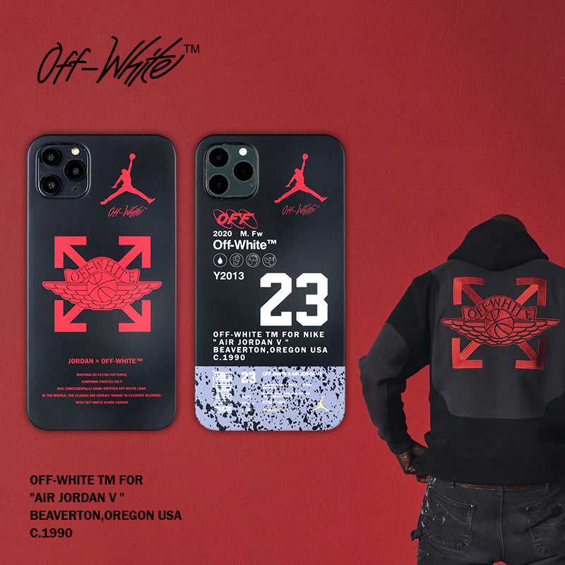 Black AJ 23 iPhone Case