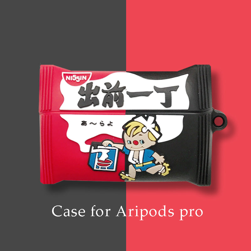 Demae Iccho 出前一丁 Shaped Airpods Pro Case -  - TomorrowSummer