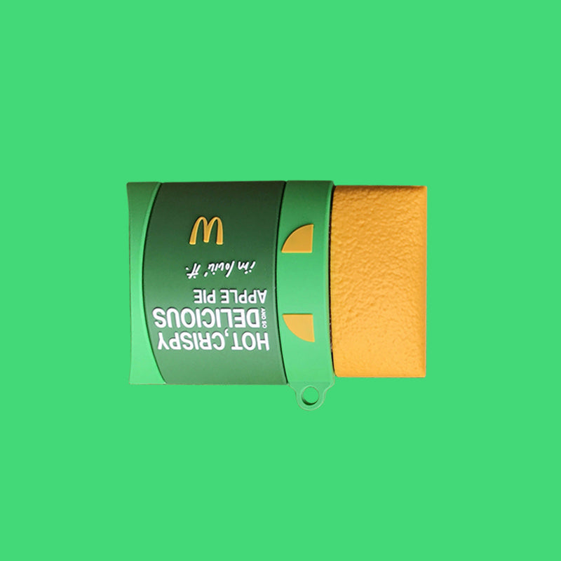 McDonald's Taro Pie & Apple Pie Airpods Case -  - TomorrowSummer