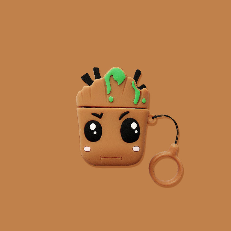 Cute Groot Airpods Case - Movie Airpods Cases - TomorrowSummer