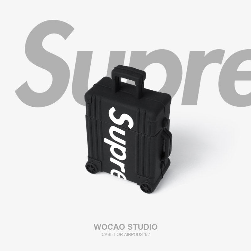 SUP Suitcase Shaped  Airpods Case -  - TomorrowSummer