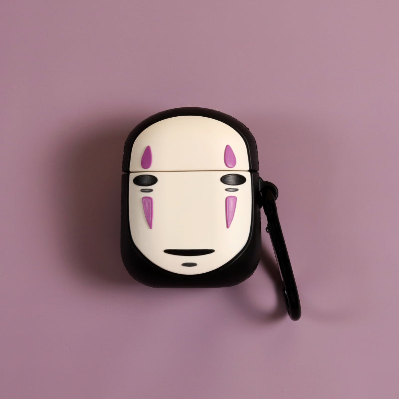Spirited Away No-Face Man Airpods Case - Animation Airpods Cases - TomorrowSummer