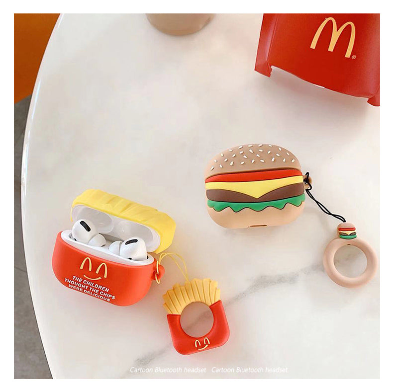 Fries & Hamburger Airpods Pro Case -  - TomorrowSummer