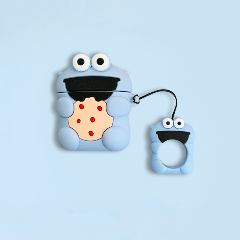 Cookie Monster Sesame Airpods Case - Fashion Airpods Cases - TomorrowSummer