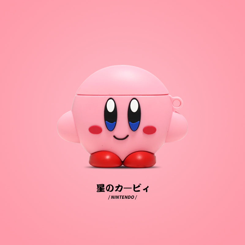 Kirby Shaped Airpods Case -  - TomorrowSummer