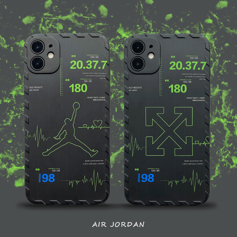 Cool Black AJ iPhone Case