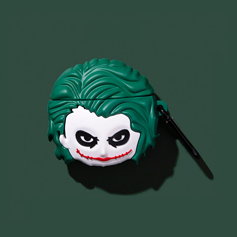 Joker Head Airpods Case - Movie Airpods Cases - TomorrowSummer