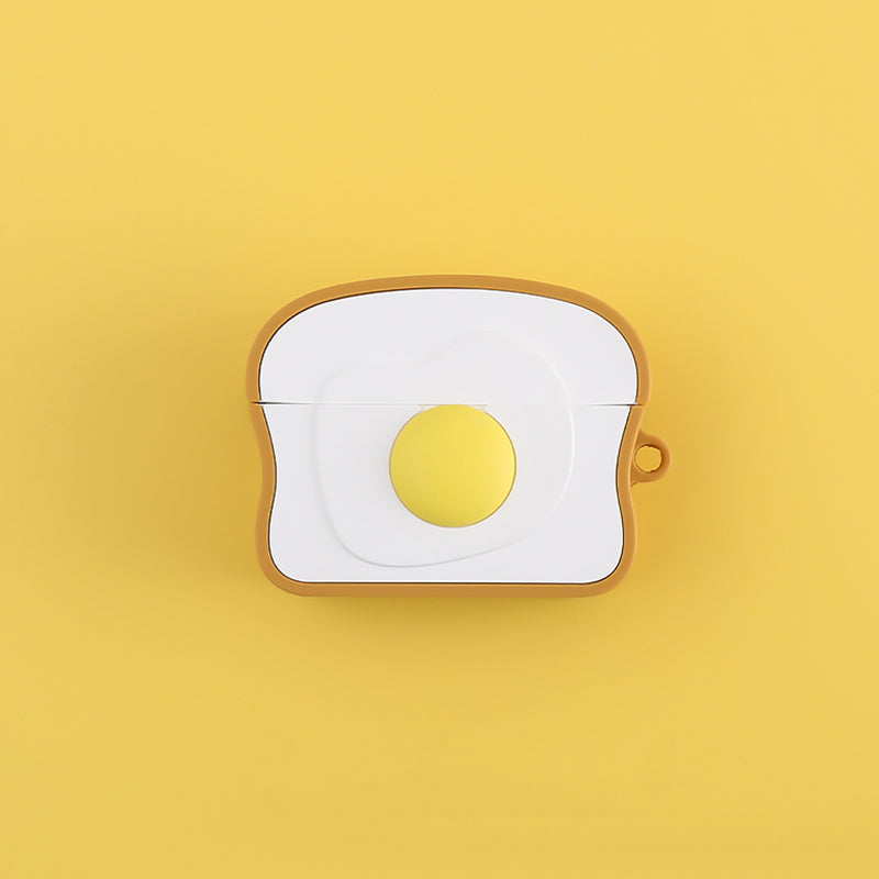 Toast with Egg Airpods Pro Case -  - TomorrowSummer