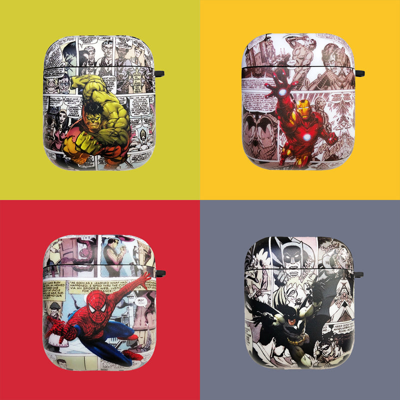 Cool Heroes Airpods Case
