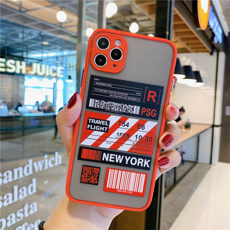 New York Borading Pass iPhone Case