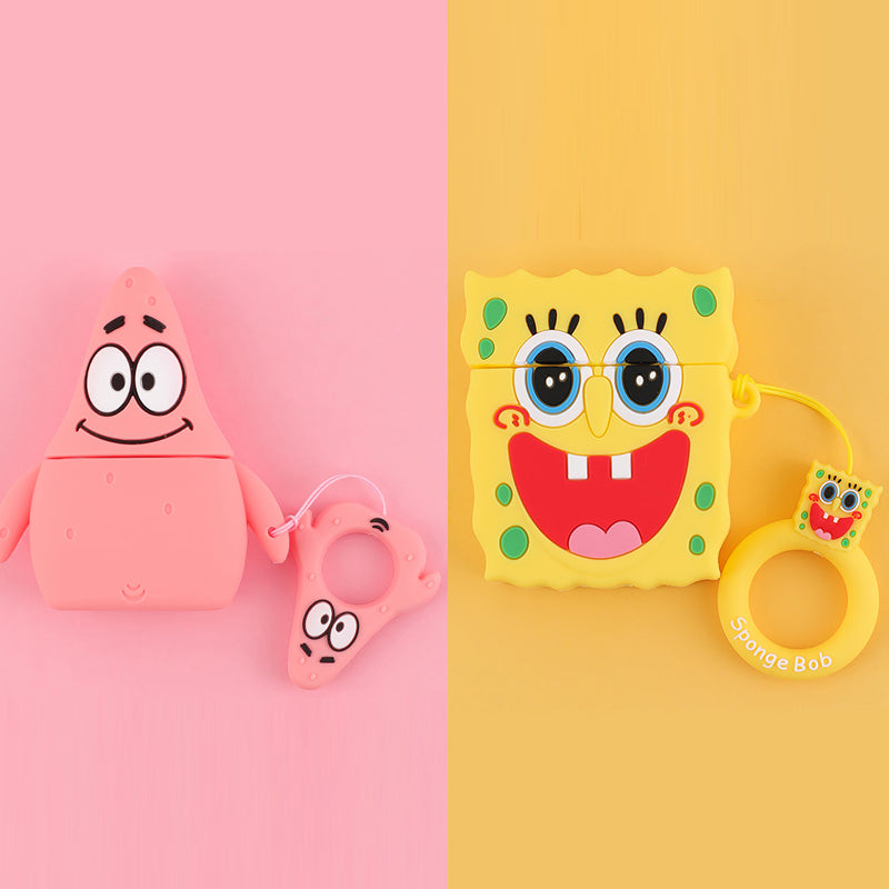 Patrick Star & Spongebob AirPods Case -  - TomorrowSummer