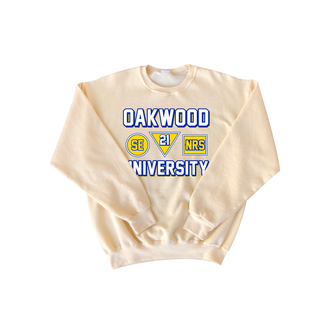 "OU 21 SENIORS CUSTOM ""Embroidered"" CREWNECK PRE-ORDER"