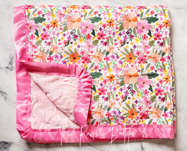 The She's a Wildflower Blanket