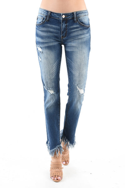 The Santa Fe Ragged Jeans