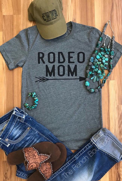 RODEO MOM tee