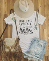 Sunflower Gypsy Tee