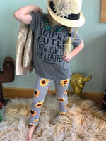 Toddler Sunflower Leggings