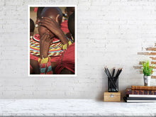 Load image into Gallery viewer, SAMBURU TRIBAL HANDS   Kenya