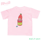 """Strawberry Jam Bath"" Kid's t-shirt made by Popkiller"