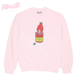 """Strawberry Jam Bath"" Pullover sweatshirt  made by Popkiller"