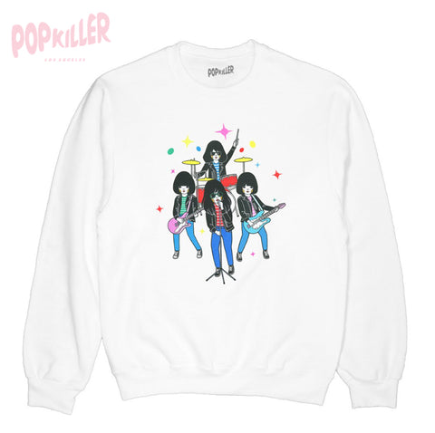 """Punk Rockers"" Pullover sweatshirt  made by Popkiller"