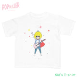 """Pop'n Roll Hero"" Kid's t-shirt made by Popkiller"