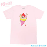 """Crepe"" T-shirt made by Popkiller"