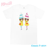 """Icecream Girls"" T-shirt made by Popkiller"