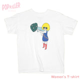 """Mushroom Gir""l T-shirt made by Popkiller"