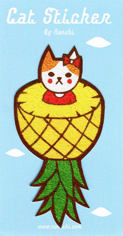 Sticker -Fruit Cat-