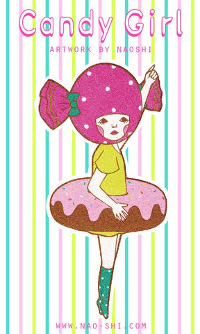 Sticker -Candy Girl-