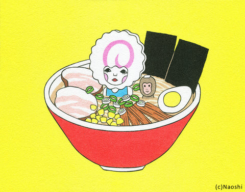 8x10 Art Print -In the ramen-