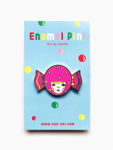 Enamel Pin -Candy Girl-