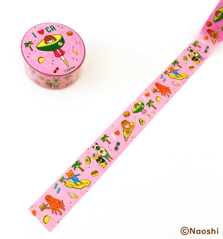 Washi Tape -I love CA-