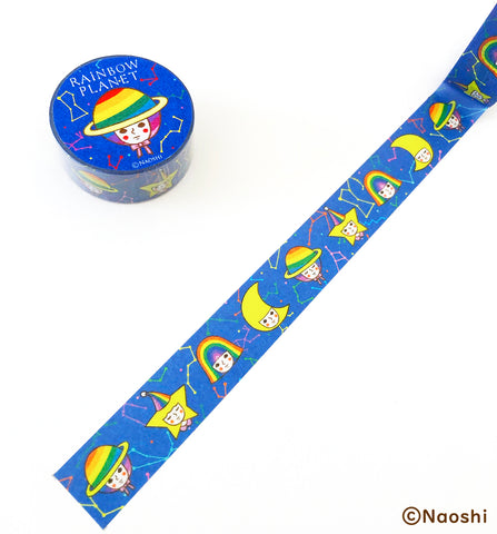 Washi Tape -Rainbow Planet-
