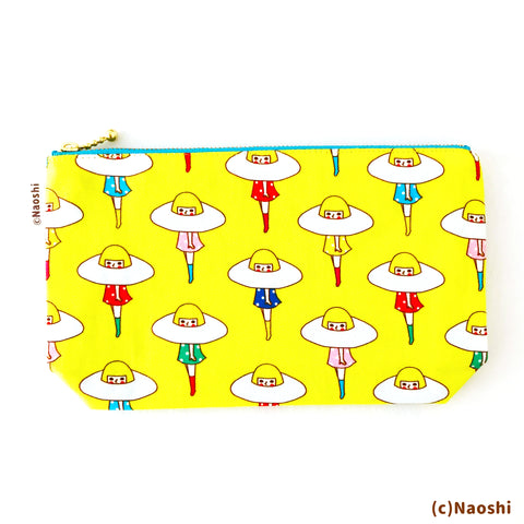 Zipper Pouch -Escape to sunny side up egg-