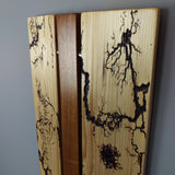 Lichtenberg Wood Wall Art in Pine and Jatoba