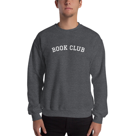 'Book Club' Printed Unisex Sweatshirt