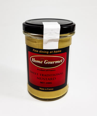 Sweet Traditional Mustard