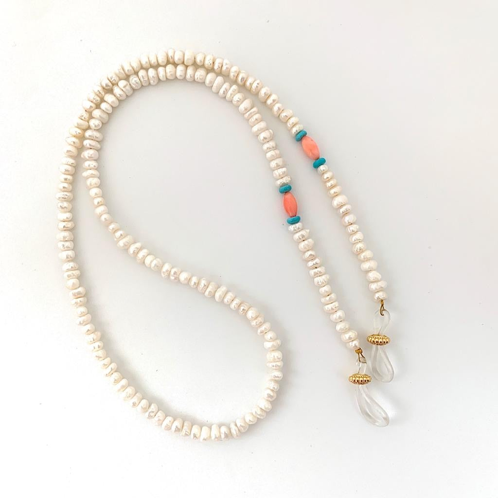 Pearls  SUNGLASSES CHAIN - lublu.co