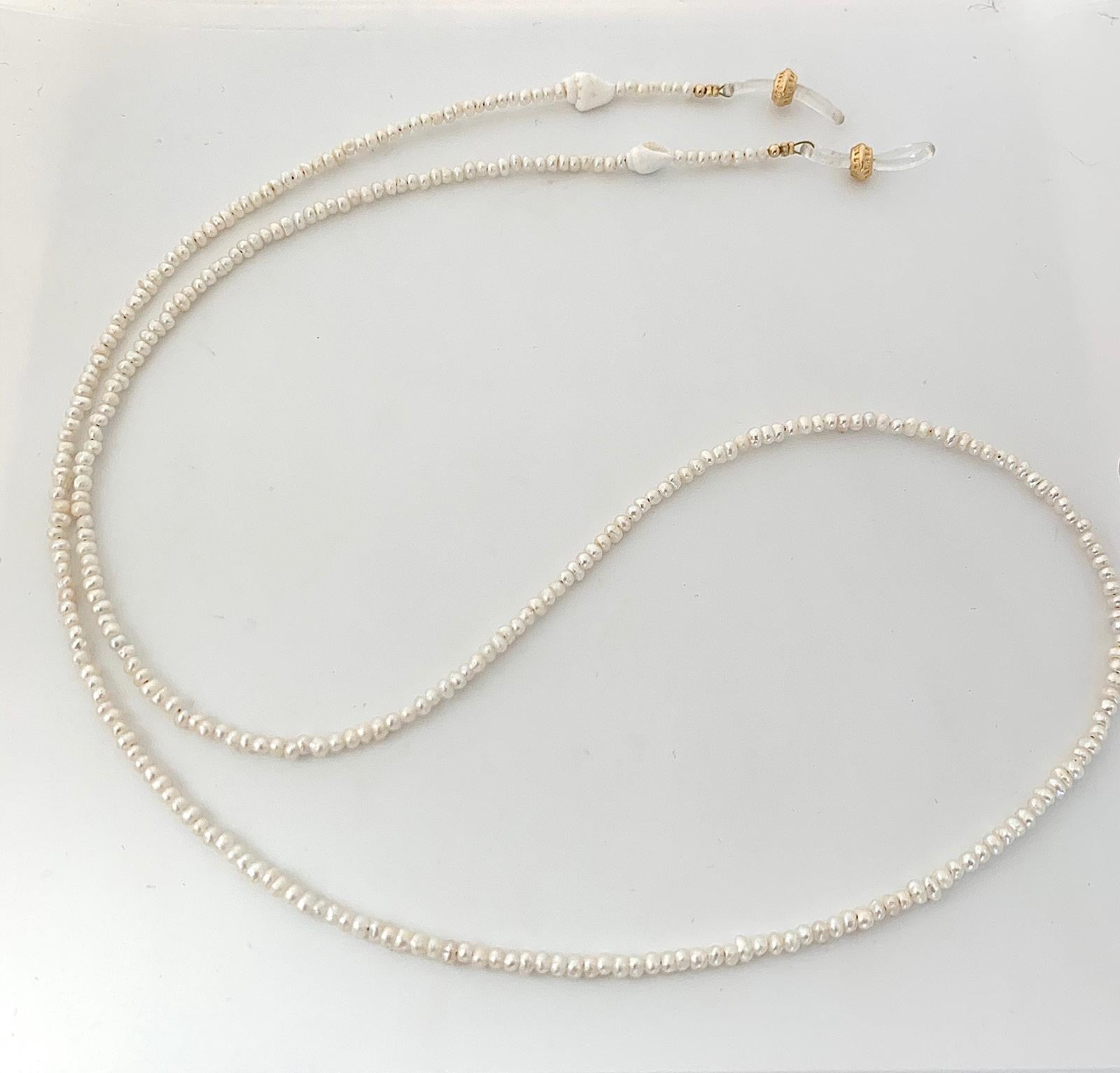 SUNGLASSES PEARL CHAIN - lublu.co