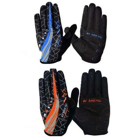 Outdoor Bike Bicycle Gloves Sports Riding Gloves Full Fingers Gloves