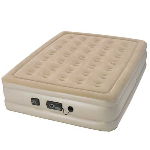 Serta Raised Queen Airbed with NeverFlat Pump