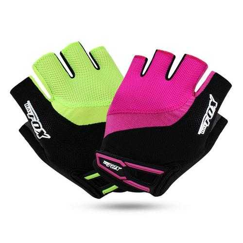 BIKIGHT Cycling Gloves Half Finger Breathable MTB Bike Gloves GEL Shockproof
